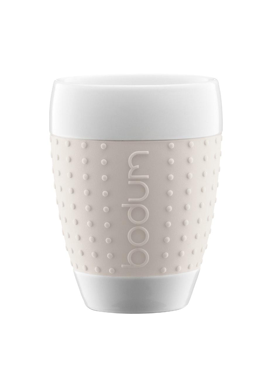 Bodum   Pavina Porcelain Mug Set   White   Under $20 Stocking Stuffers    Onceit