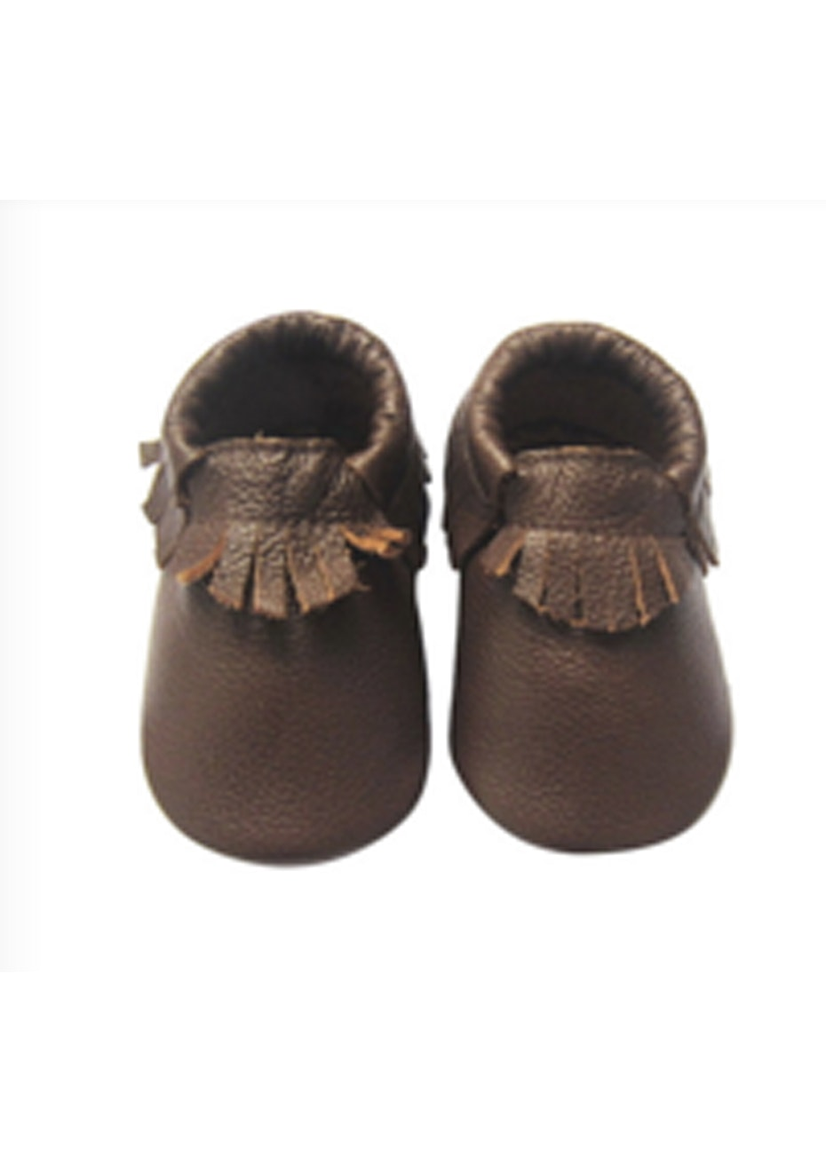Baby  Leather Shoes - Brown