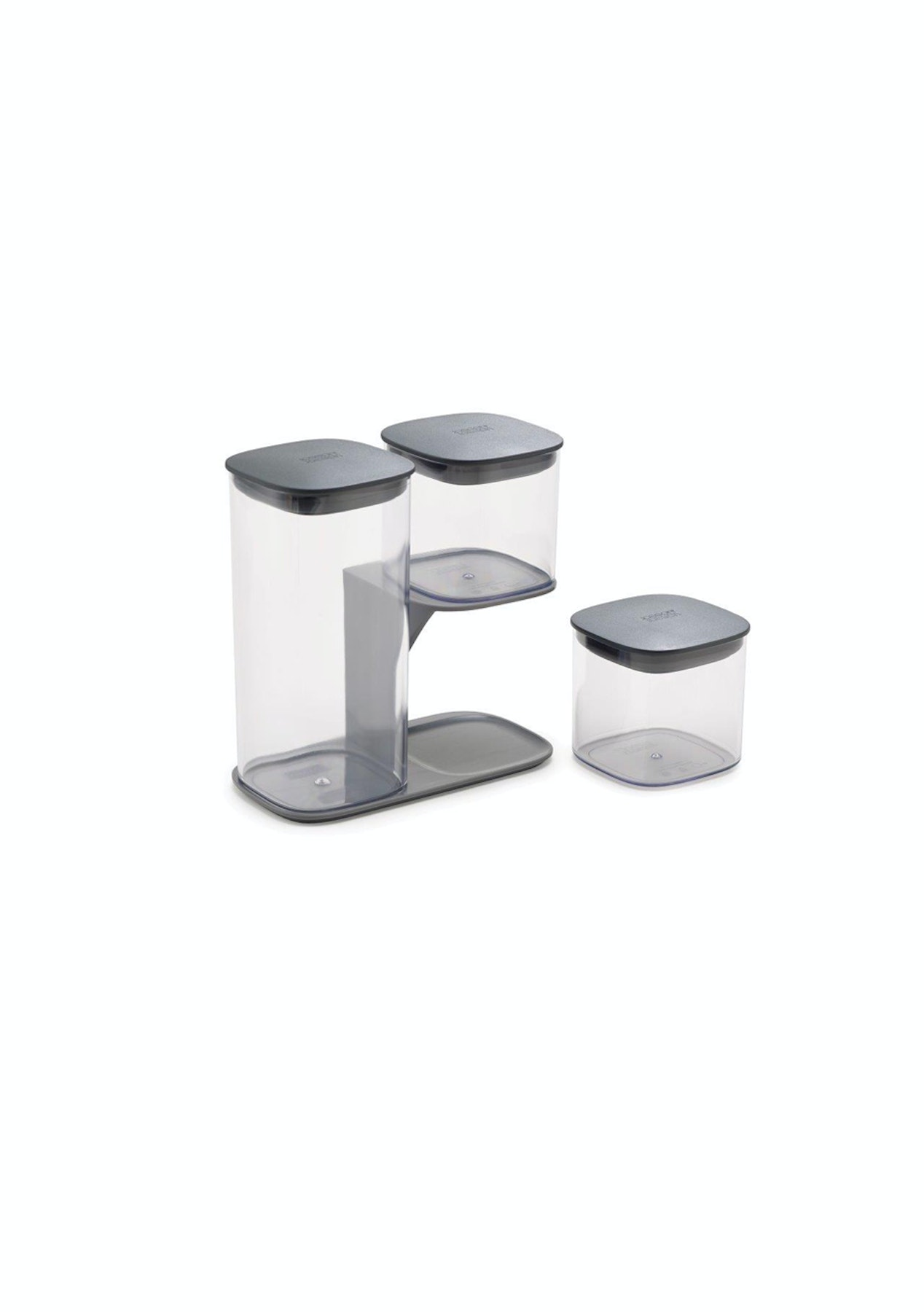 Joseph Podium Dry Food Storage Container 3 Piece Set With Stand Last Chance Up To 60 Off Onceit