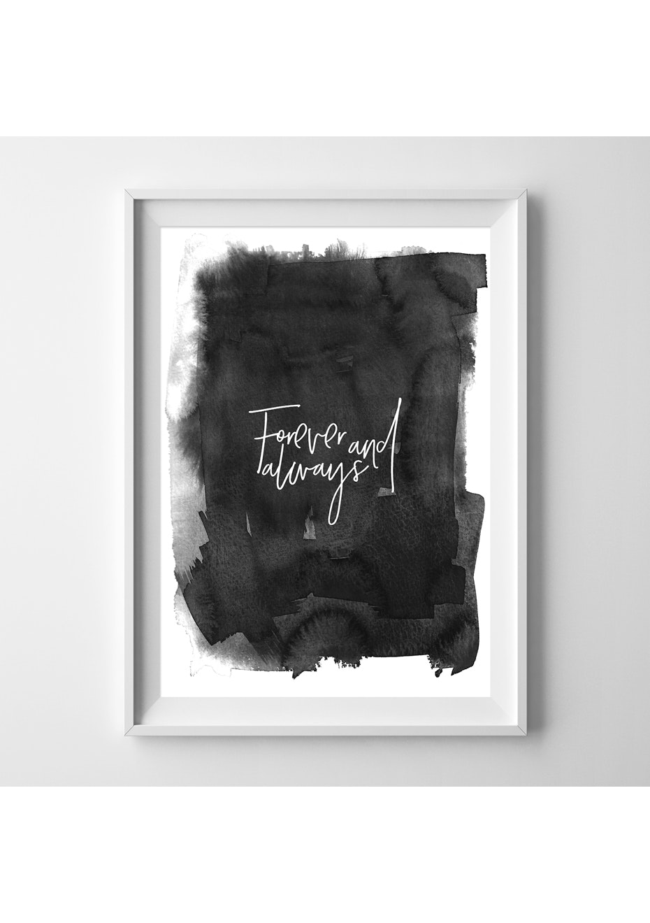 Simply Creative - Forever And Always  - A4 Colour Print