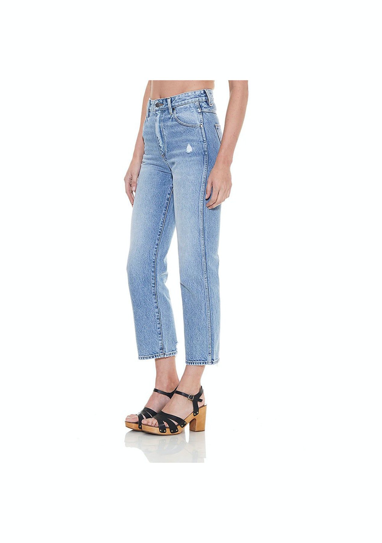 7430d2ac1b Wrangler - Womens - Hi Birkin Jean - Strip Vintage - Only 1 Left - Onceit