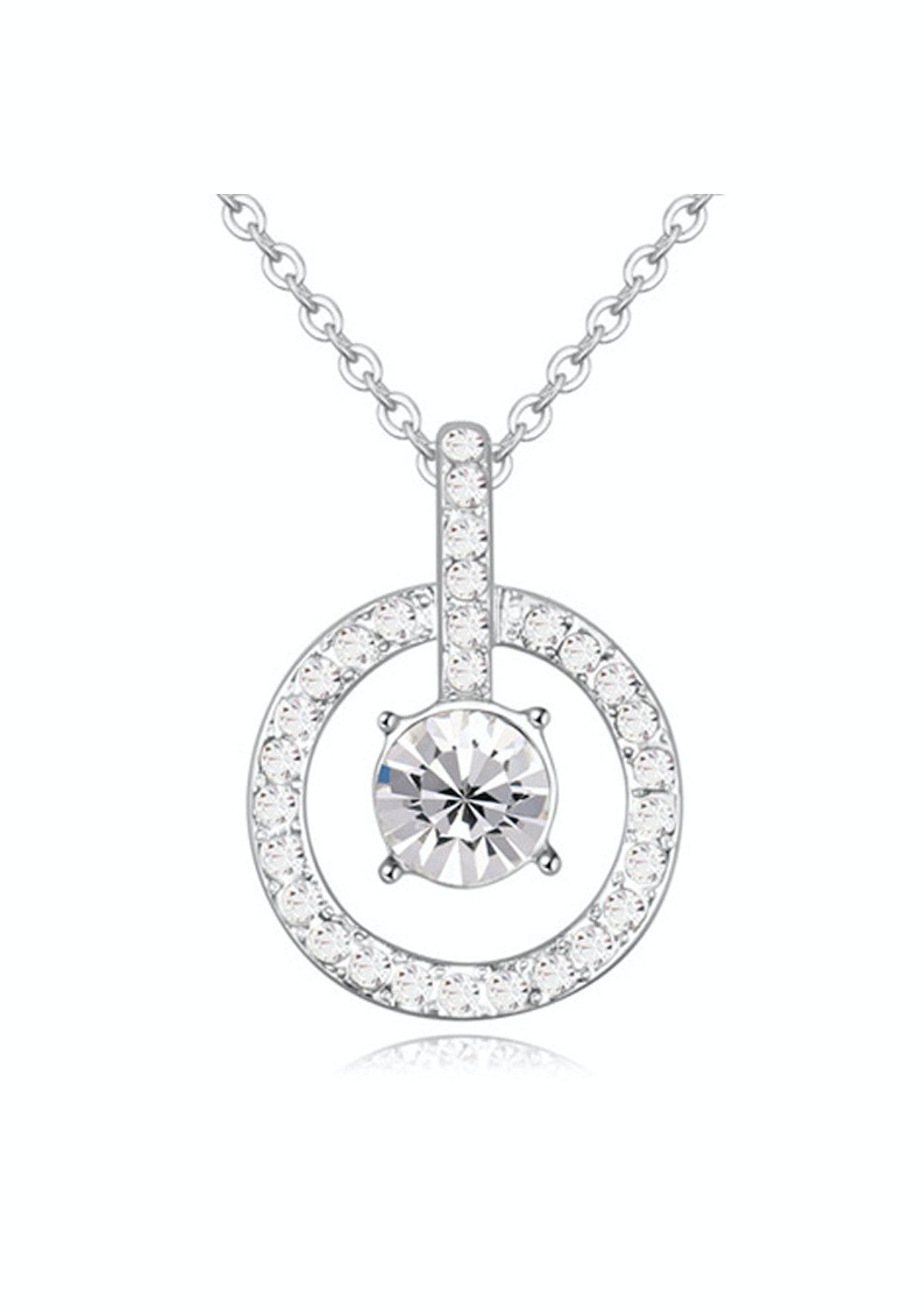26c124c53039bf Pierre Pendant Necklace Embellished with Crystals from Swarovski - 600+  Swarovski Elements - Under  20 - Onceit
