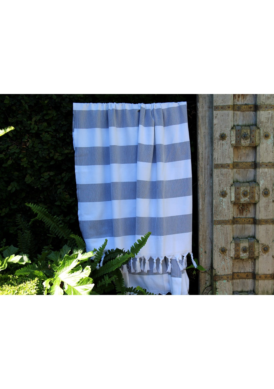 Cabana Charcoal Turkish Towel