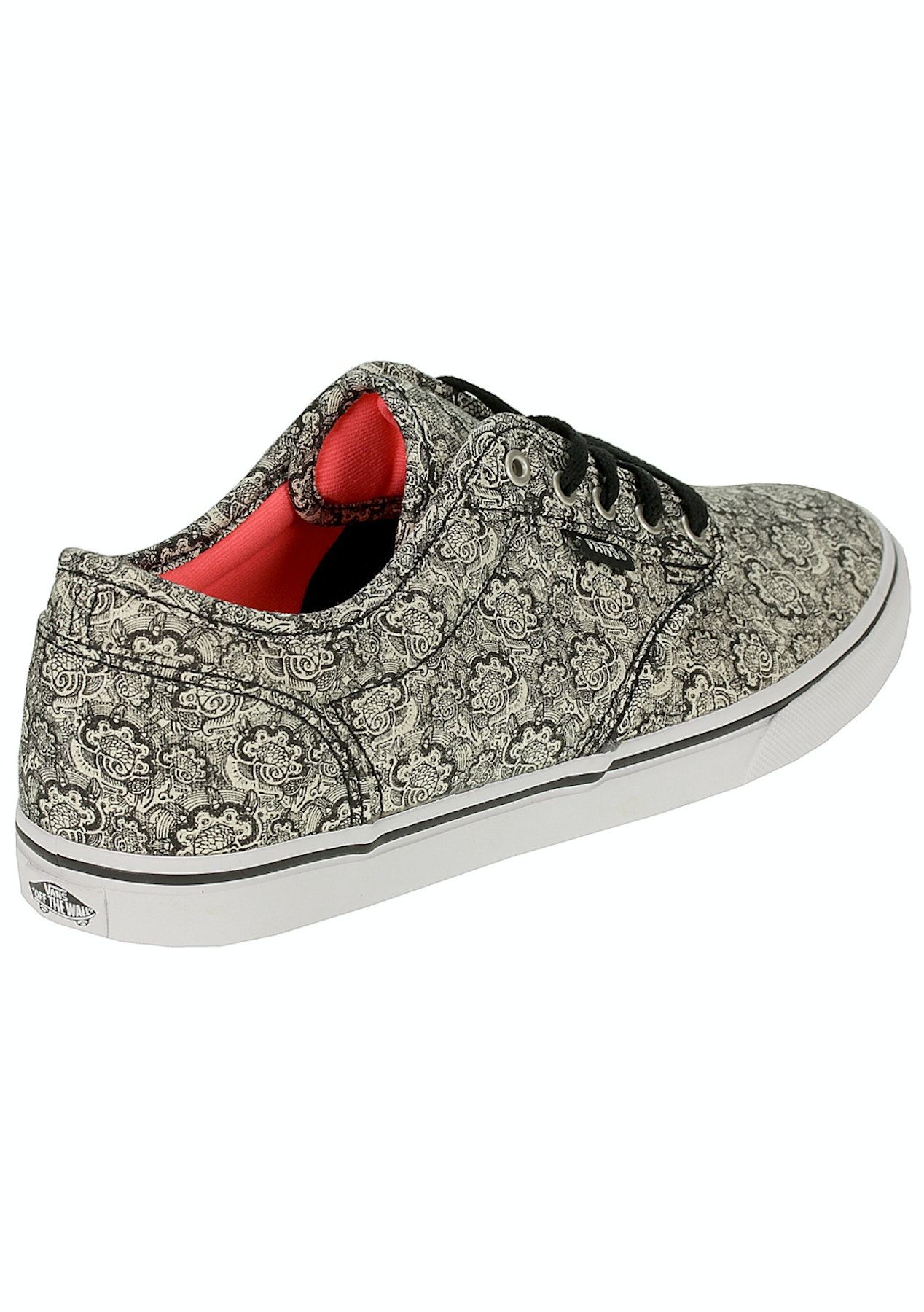 Vans - Womens Atwood Low - Henna - Black White - Vans for The Family -  Onceit 9e7f3239d9