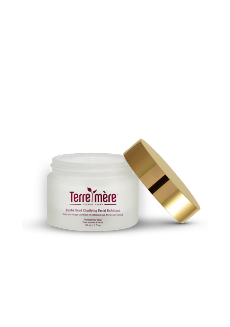 Terre Mere - Jojoba Bead Clarifying Facial Exfoliant - Normal-Dry Skin