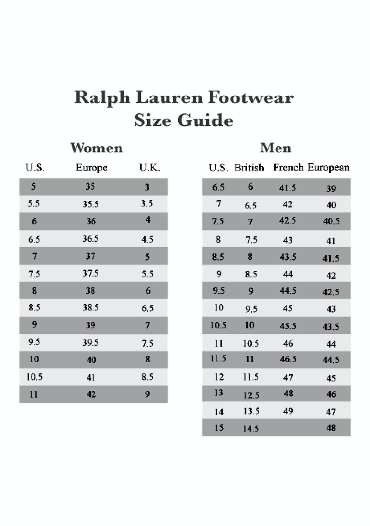 Polo Ralph Lauren - Summit Scuff - Tan