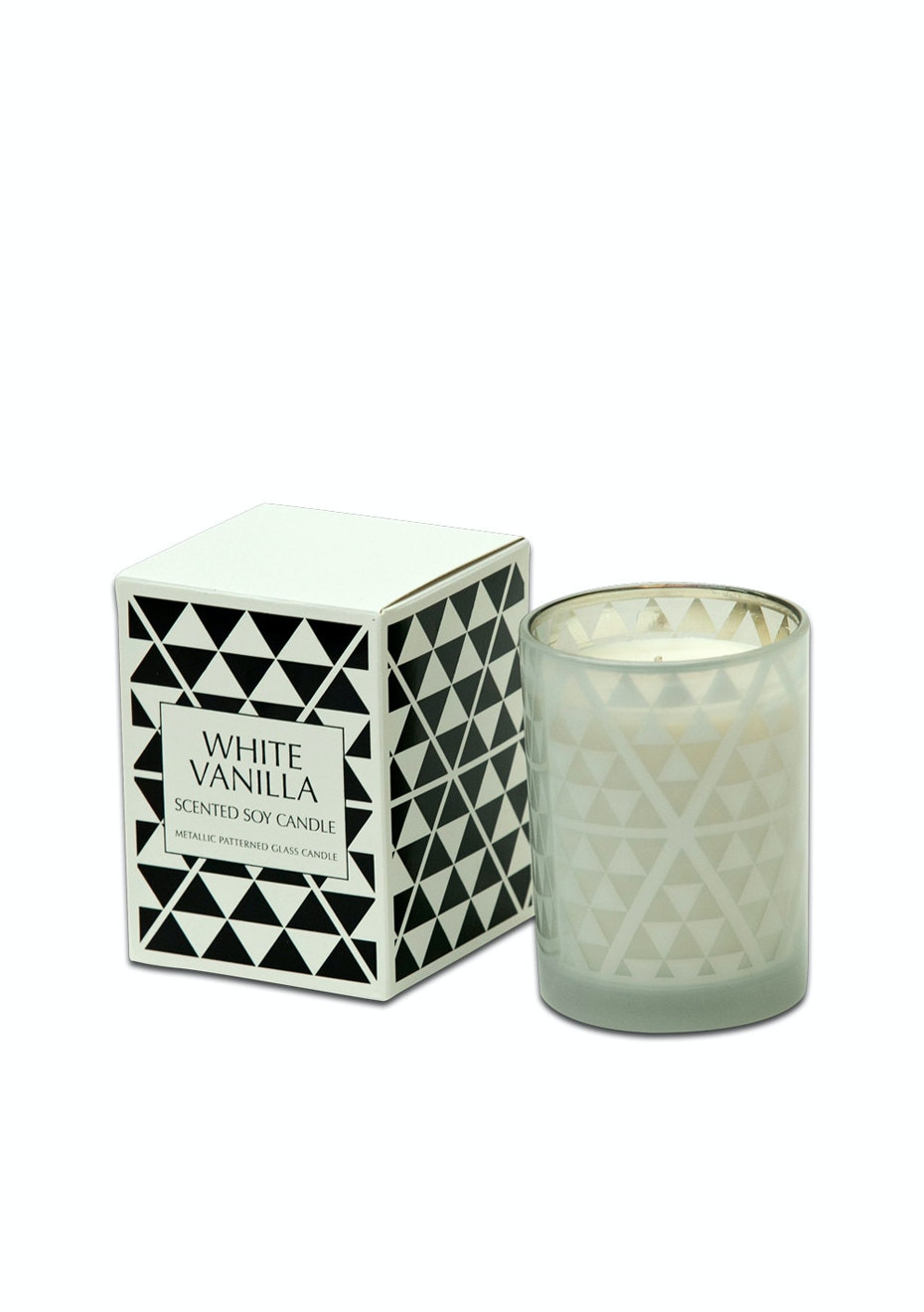 Me & My Trend - Geo White Vanilla Candle