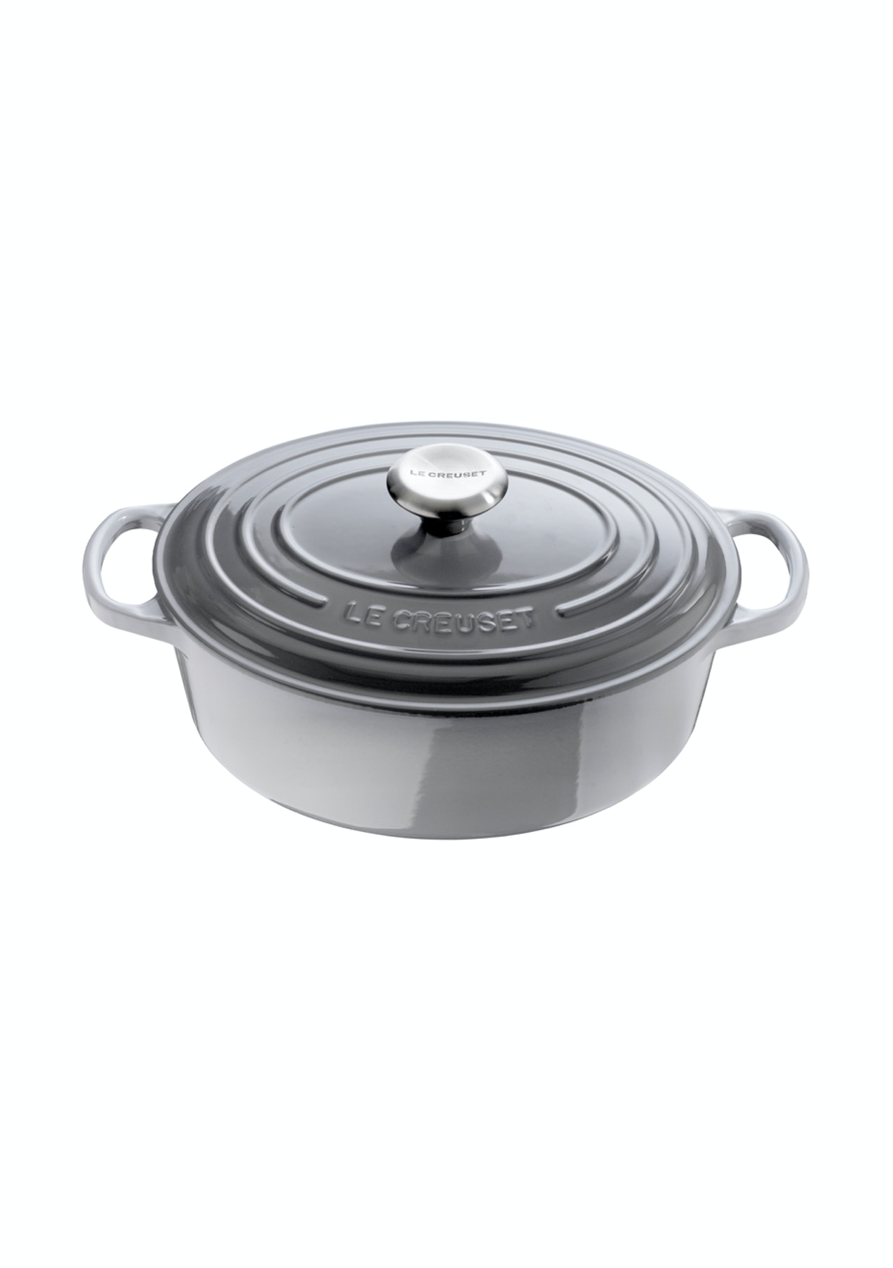 Le Creuset Lifetime Guarantee: Cast Iron Signatue Oval Casserole 29cm