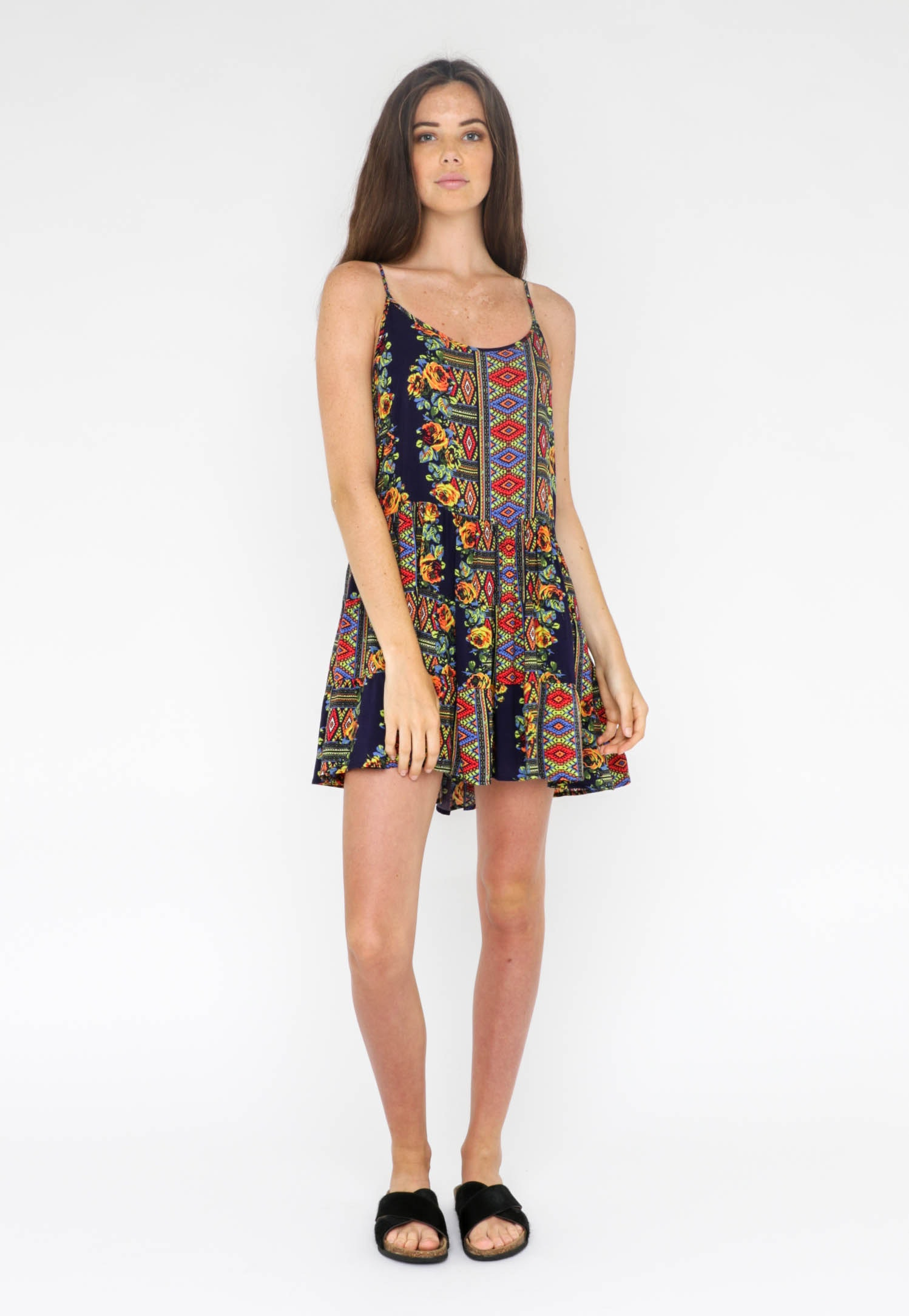 All About Eve  - Culture Dress - Multi Print