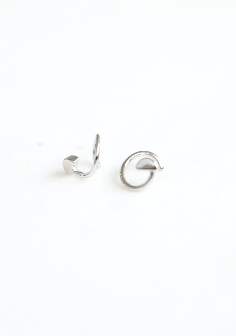 Circle Earring  - 925 Silver
