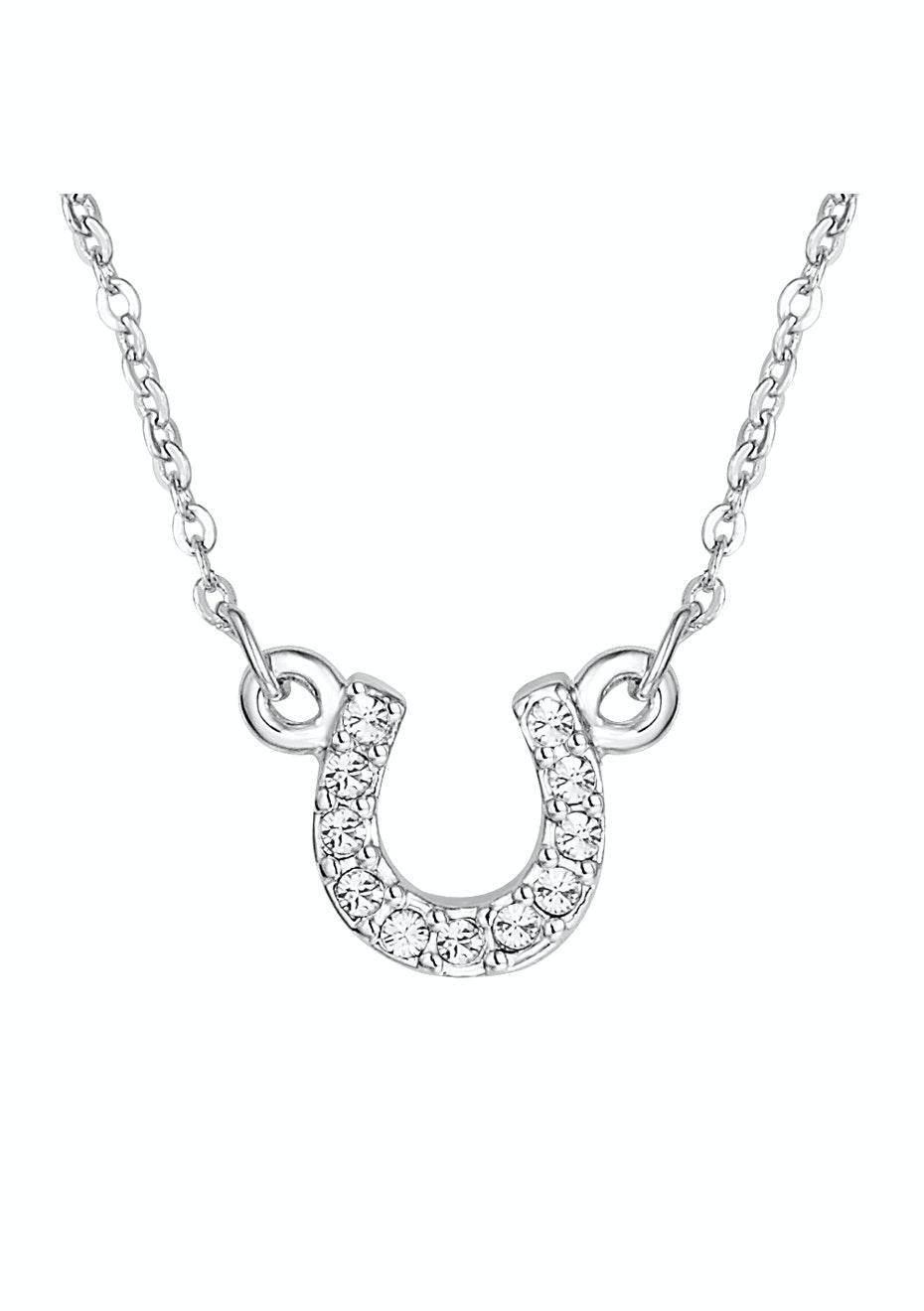 Horseshoe Necklace Ft Swarovski Elements