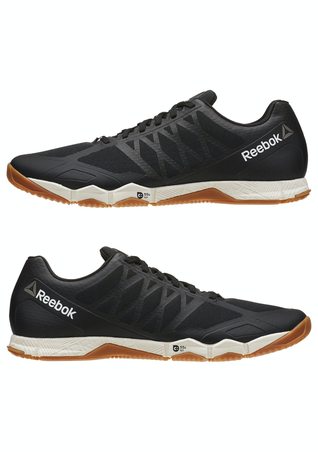 94bee638c9e6a Reebok Mens - R Crossfit Speed Tr - Black   Ash Grey   Classic White    Rubber Gum   Pewter - Mens Shoe Sale - Onceit