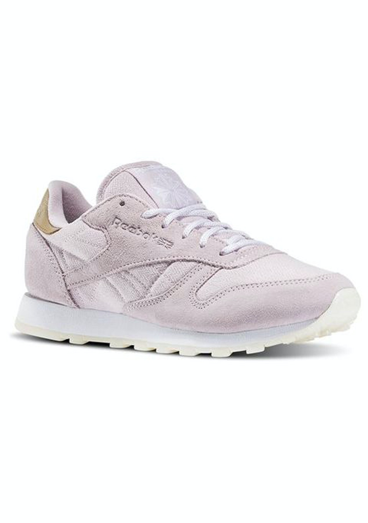 4031affc91013 Reebok Womens - Classic Leather Sea-Worn - Shell Purple   White - Final  Few  Shoes   Bags - Onceit