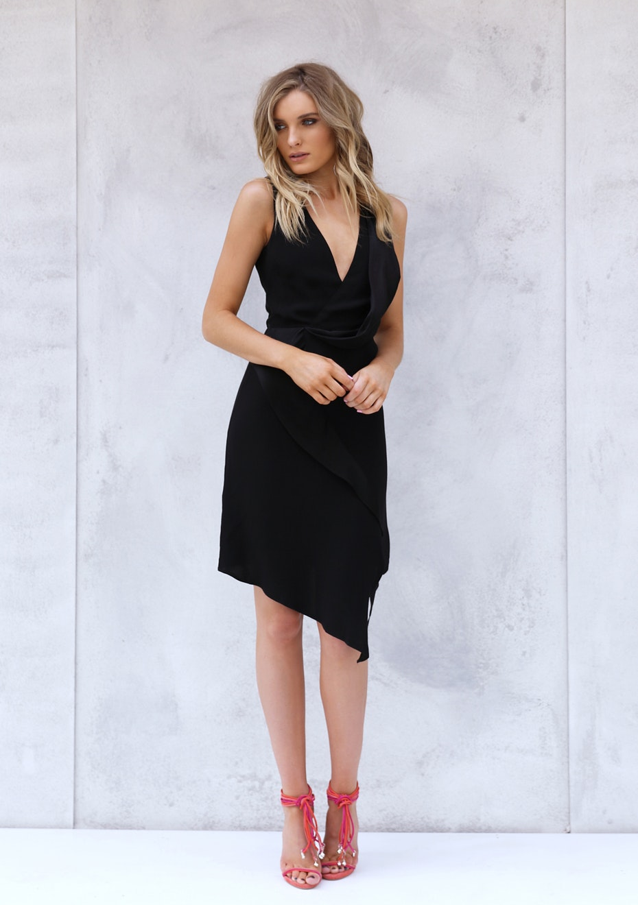 Madison - JOSIE DRESS - BLACK