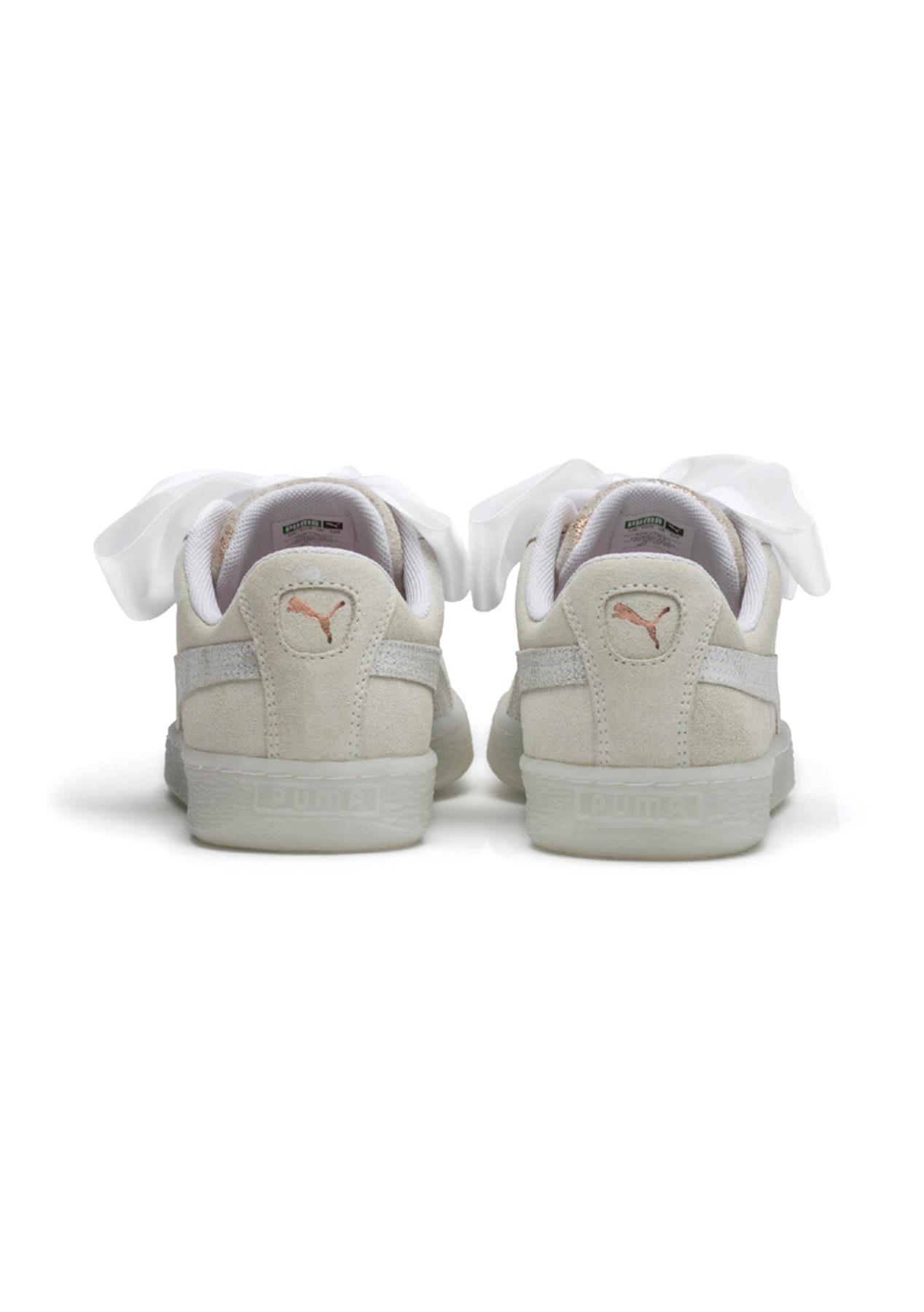 Puma - Suede Heart Artica White - Womens - PUMA Under  100 Mega Sale -  Onceit 7b35b7420