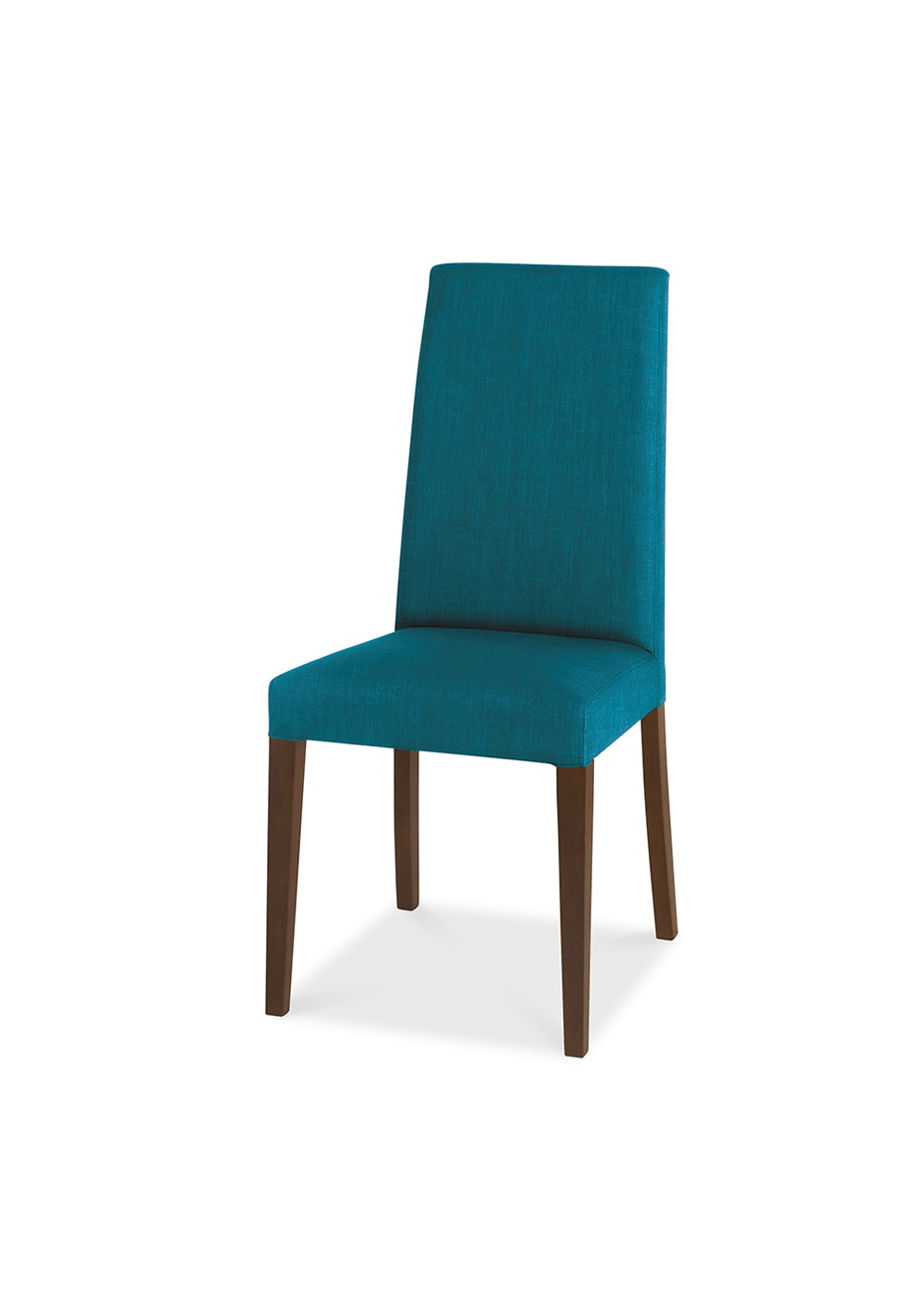Furniture By Design - Miles Chair- Walnut and Teal