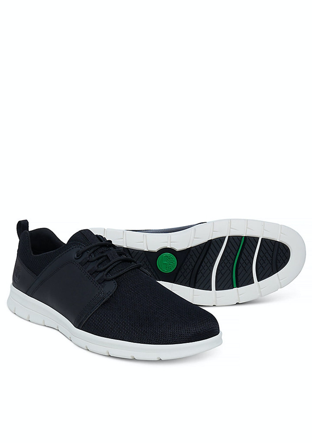 affordable price quite nice sleek Timberland - A1HRX Mens Graydon Fabric and Leather Trainer - Black