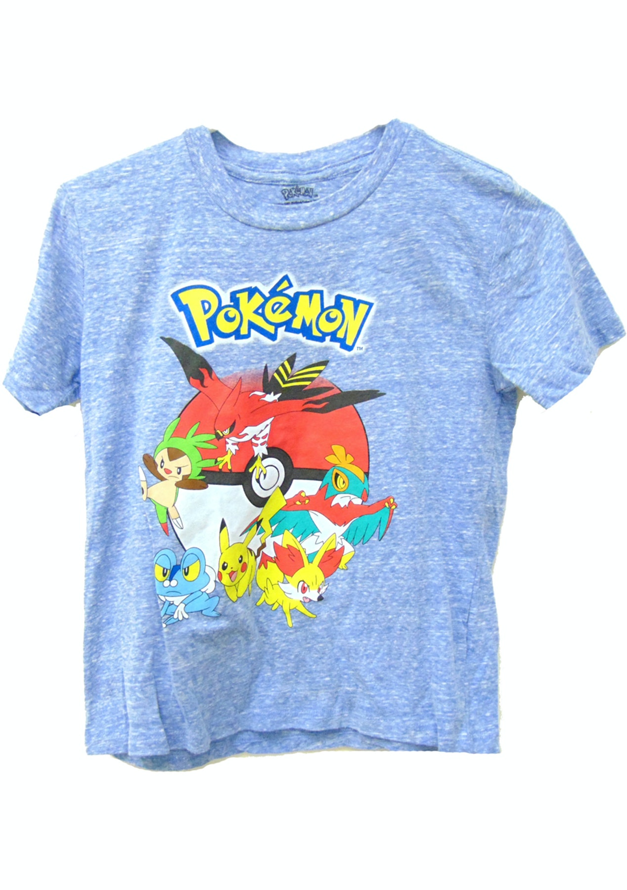 0ee70305b Pokemon Blue T Shirt Size 5/6 - The Kids Gift Sale - Onceit