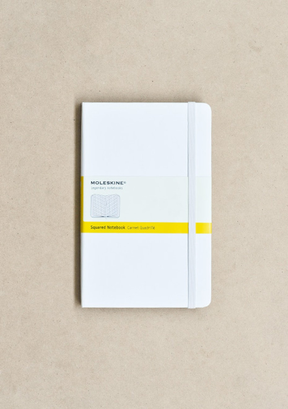 Classic Hard Cover Notebook - Grid