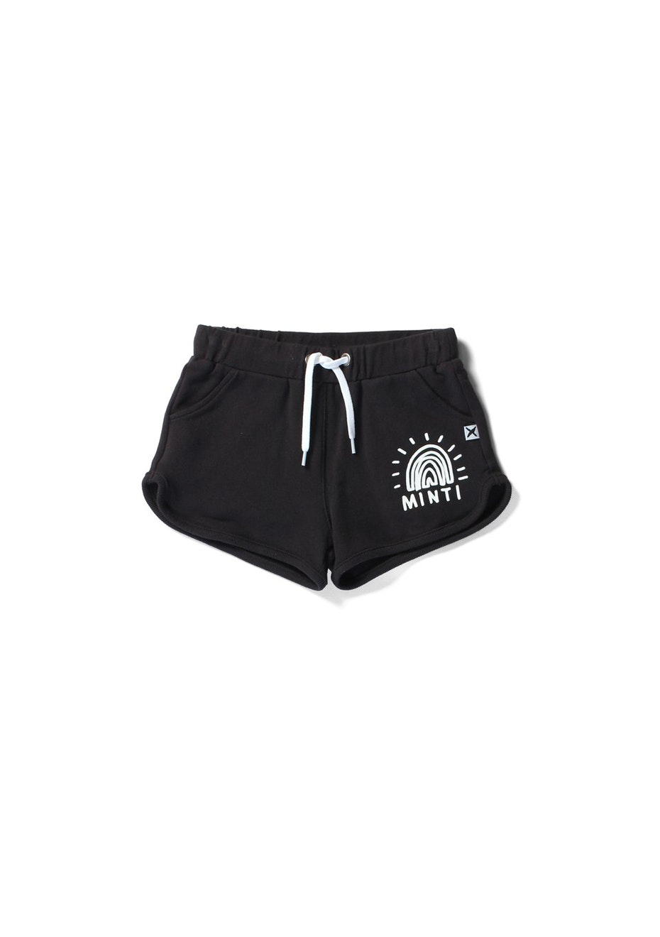 Minti - Track Short - Girls - Black