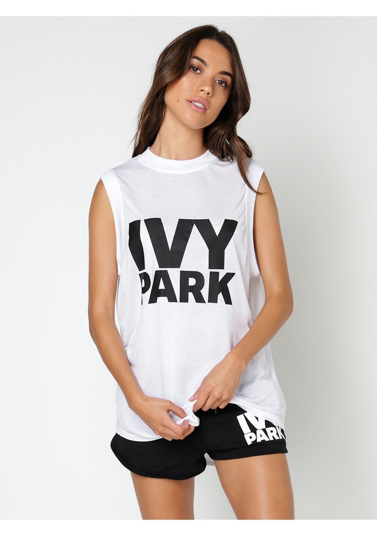 1db96f7aab33df Ivy Park - Logo Vest - White - Ivy Park - Onceit