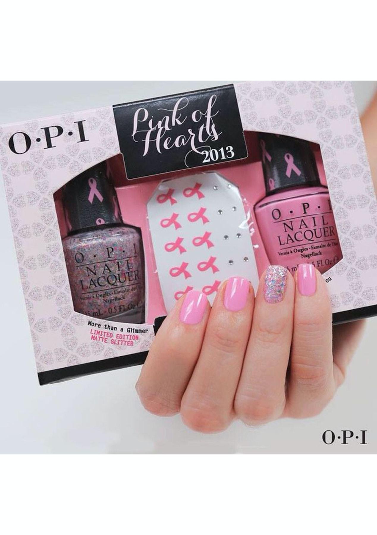 OPI Pink of Hearts 2pc Nail Polish & Nail Art Set - Free Shipping ...