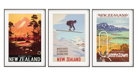 Vintage Prints: Kiwiana & More