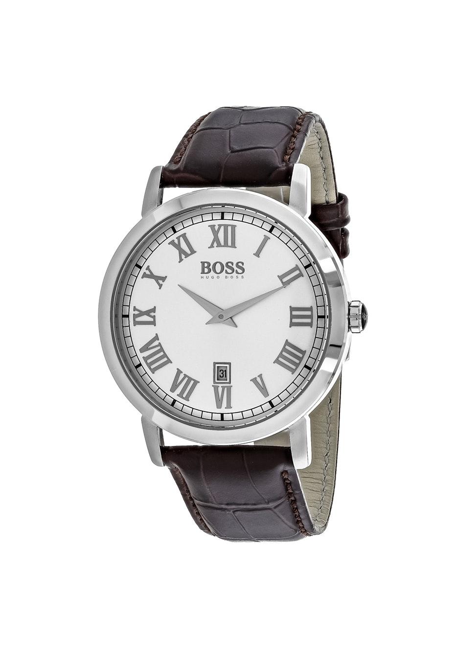 Hugo boss Men's Classic - Silver/Brown