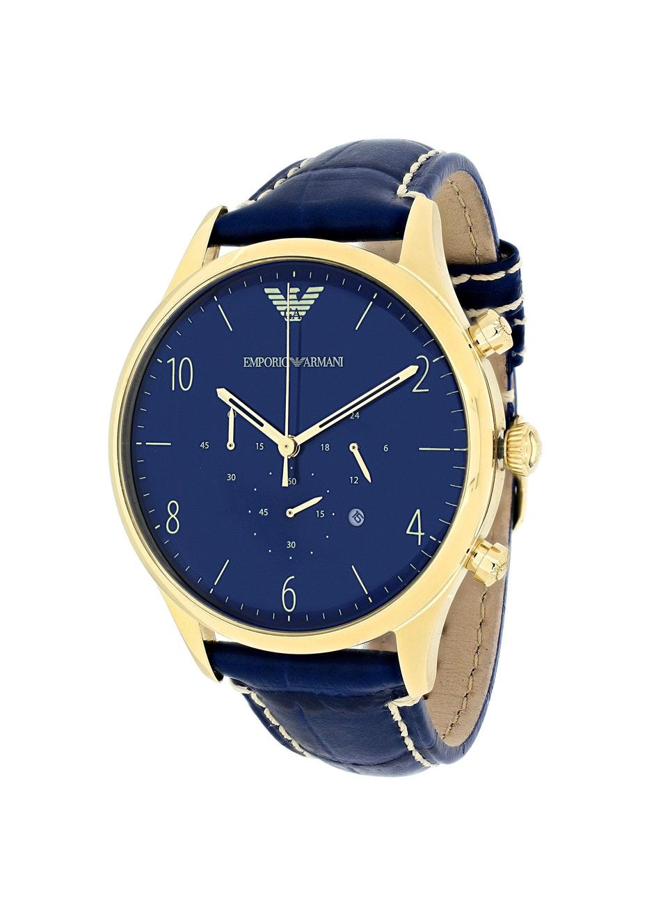 Armani Men's Classic - Blue/Blue