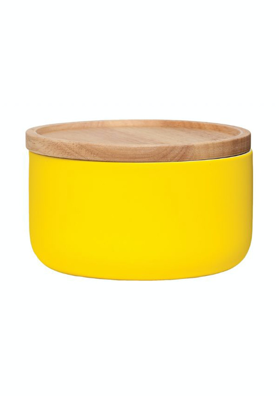 General Eclectic - Wide Canister Matt Yellow