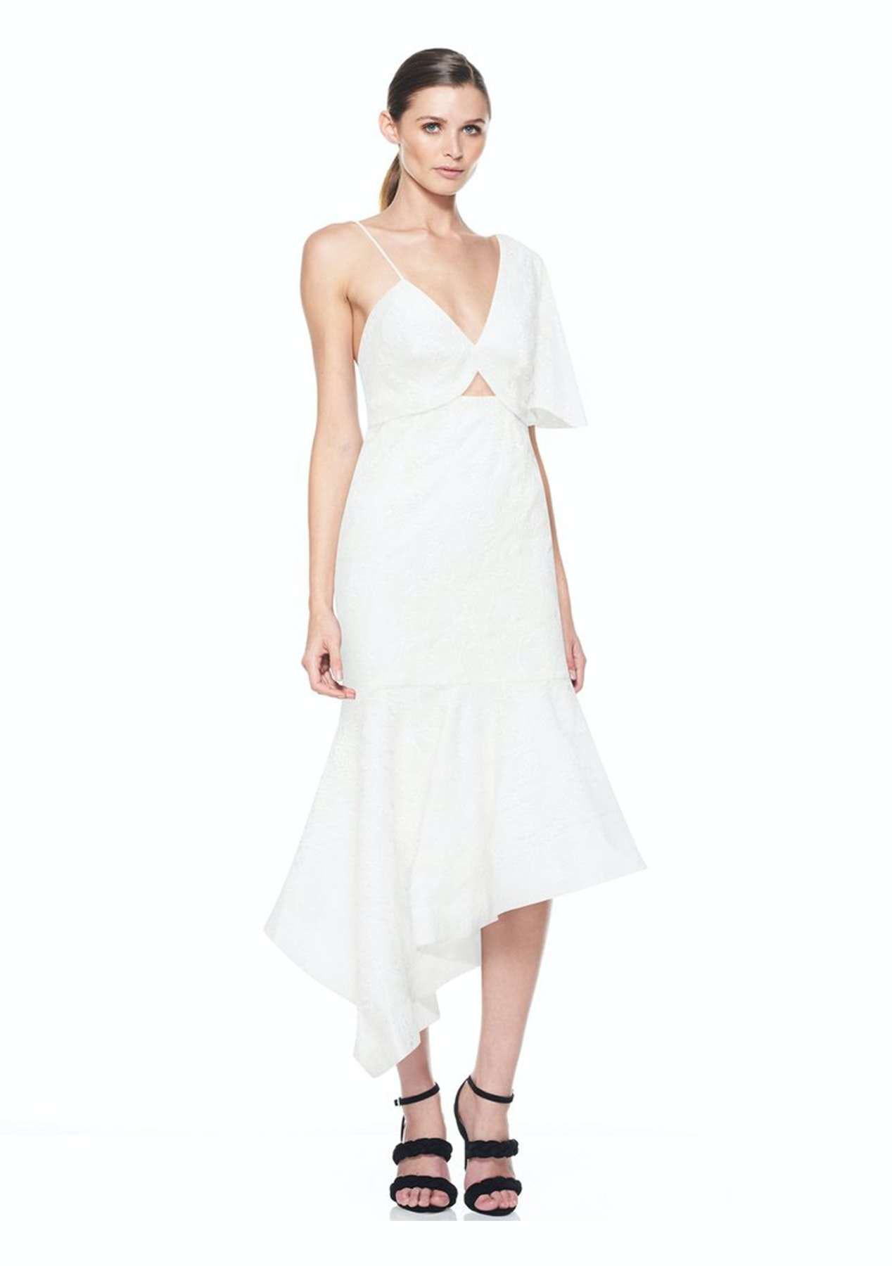 48b9701b3c96 La Maison Talulah - Untold Desire Midi Dress - White - New Stevie May, Isla  & La Maison Talulah - Onceit