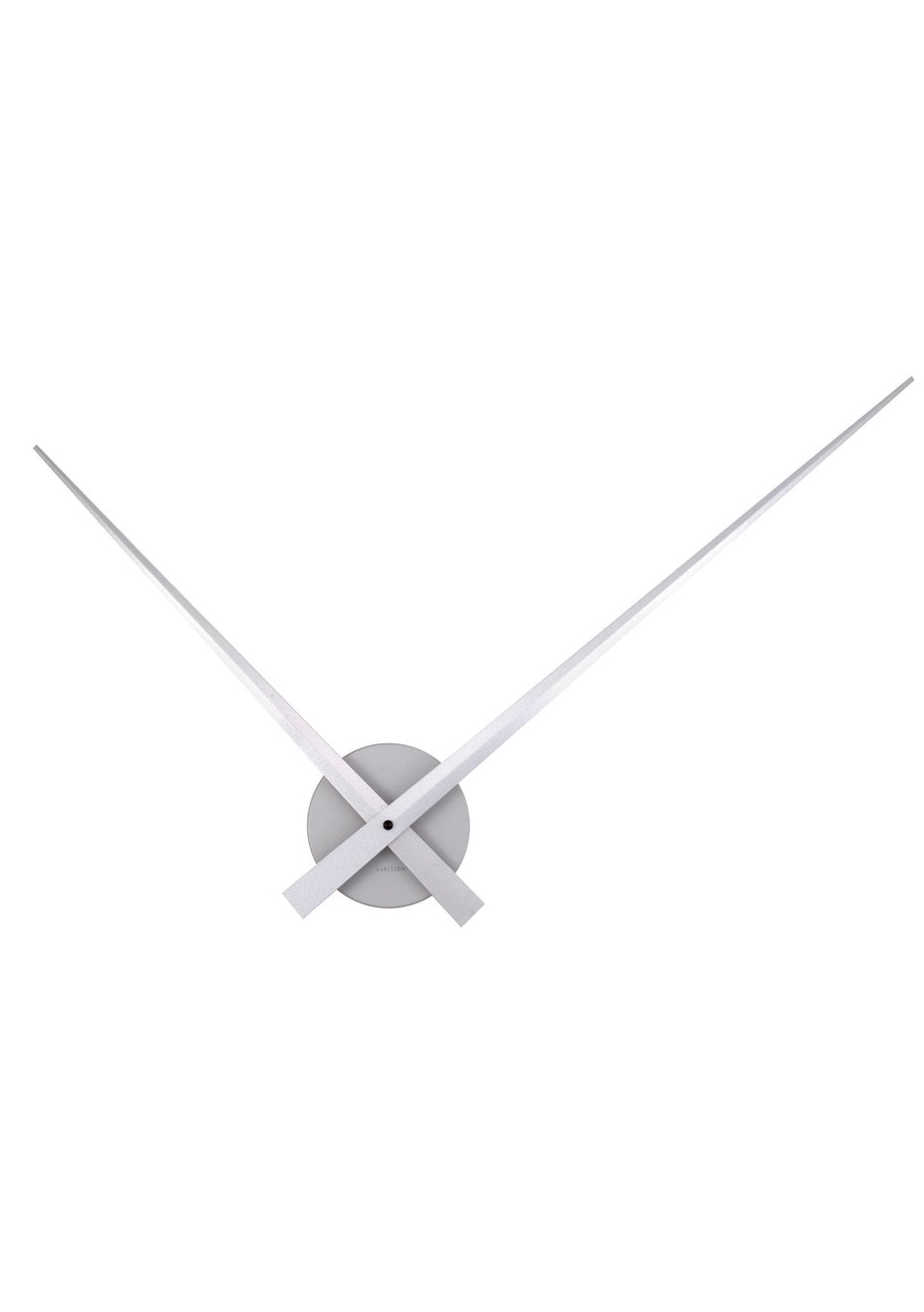 Karlsson - Wall Clock 'Little Big Time' - Silver