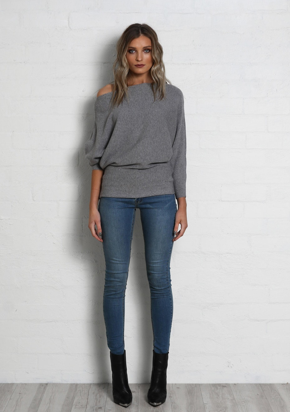Madison - SWEET NOTHINGS KNIT - GREY