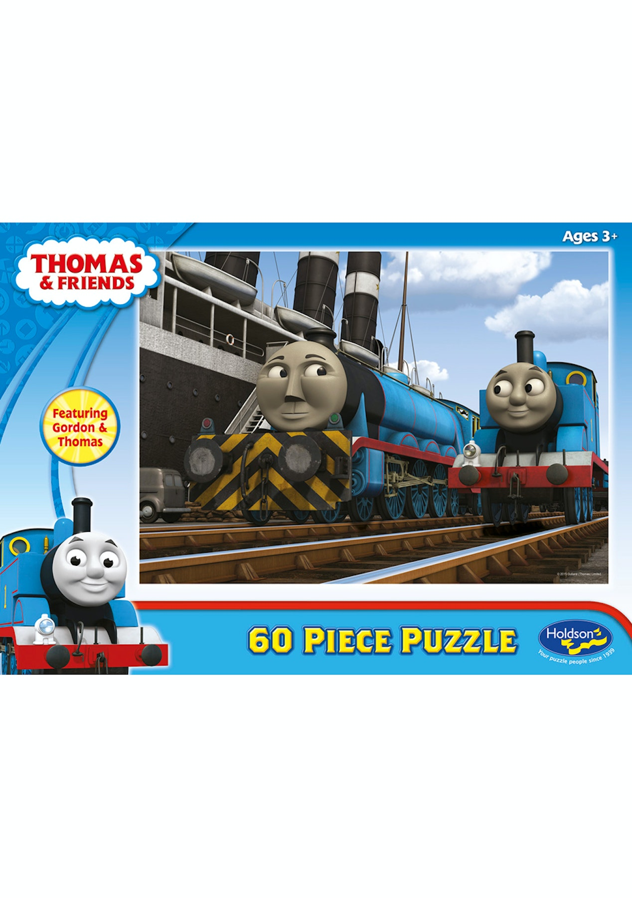 Thomas 60 Piece Jigsaw Puzzle Gordon & Thomas