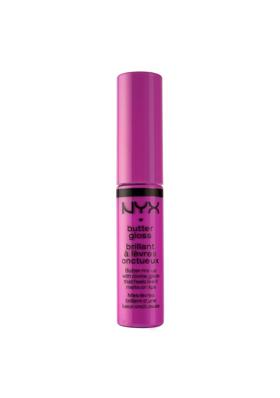 NYX BUTTER LIP GLOSS - BLG19 Sugar Cookie/ Bright Fuchsia