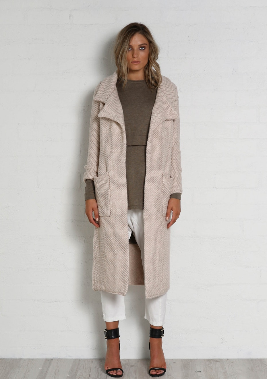 Madison - MAYA COAT - SCALLOP
