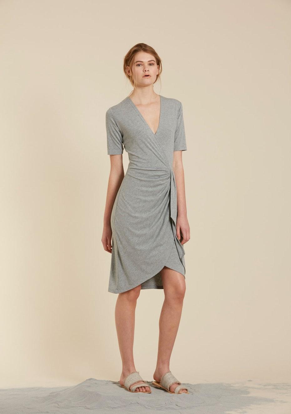 Harman Grubisa - Kiki Dress - Grey Marle