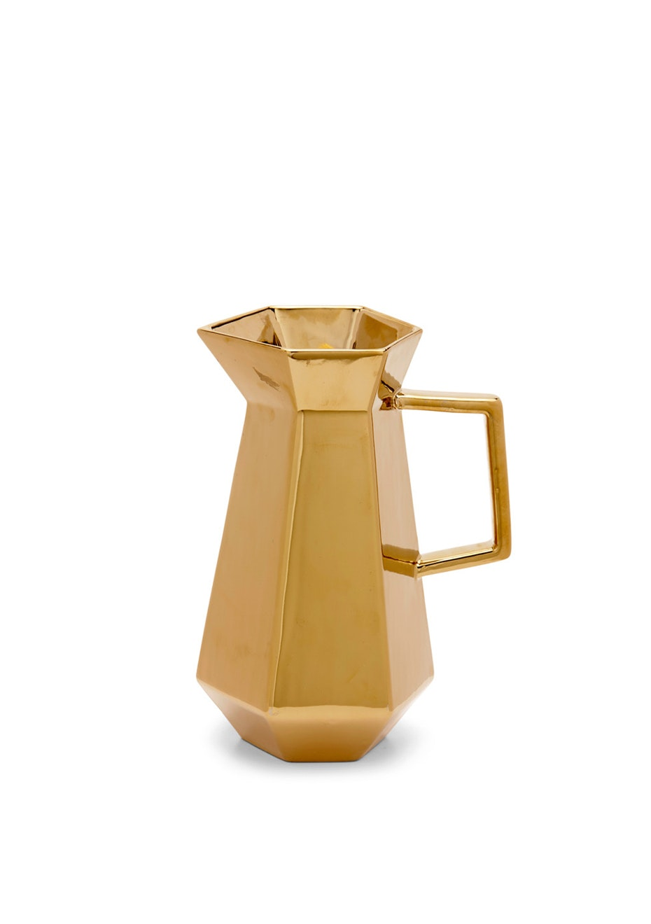 Me & My Trend - Small Gold Faceted Jug