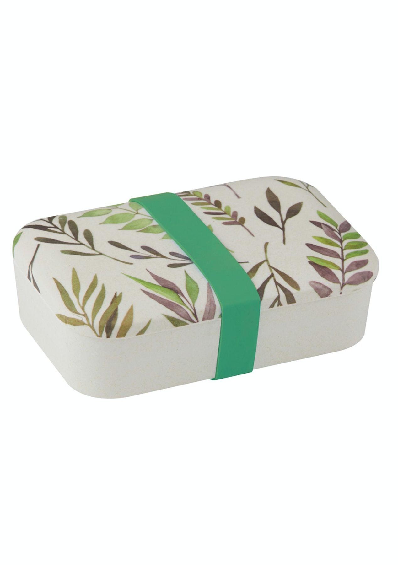 Davis & Waddell - Greenhouse Bamboo Fibre Lunch Box - Green/Natural