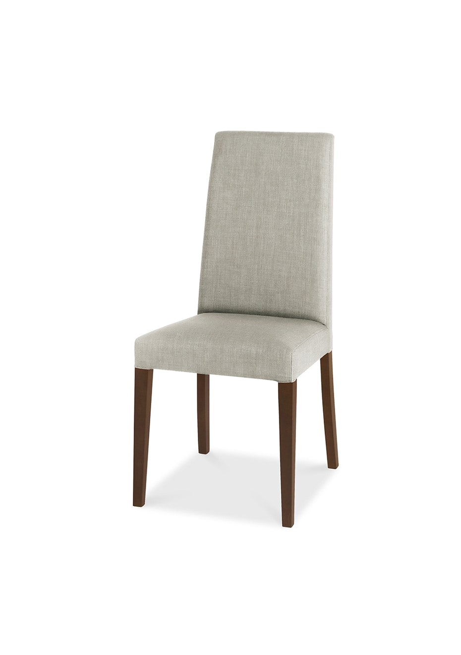 Furniture By Design - Miles Chair- Walnut and Linen