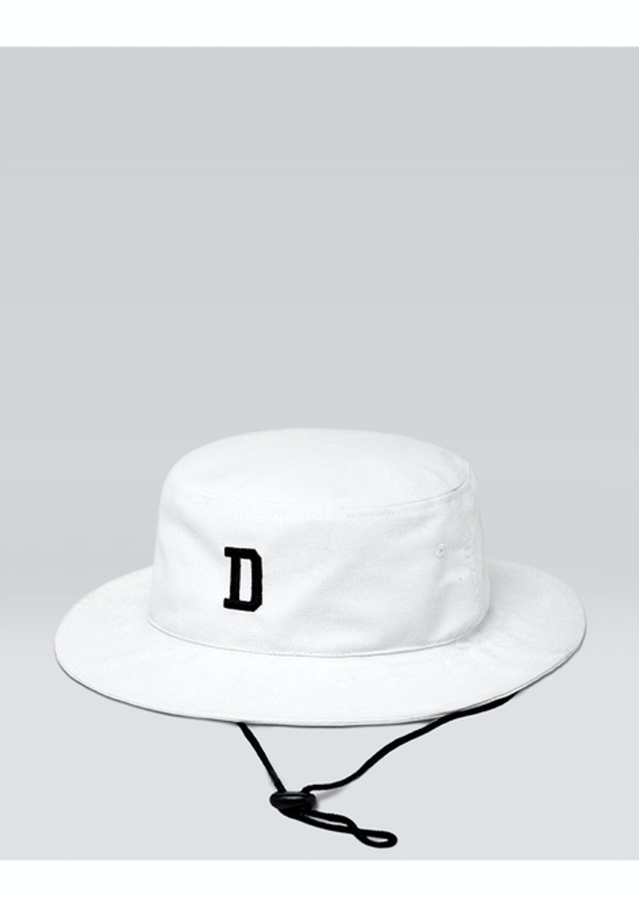 DSCRT - Safari Bucket Hat - White - Men s Streetwear Sale - Onceit 37bb248b8b3