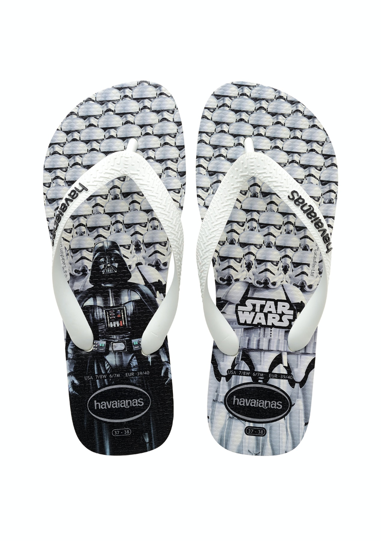 414c2f037ec Havaianas - Top Star Wars - NEW Havaianas - up to 60% off - Onceit