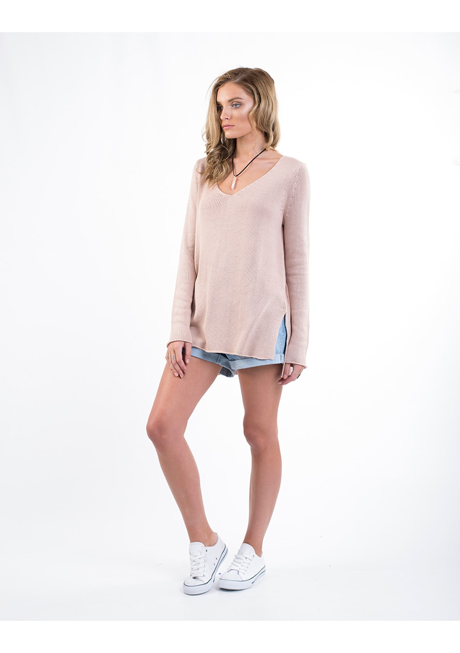 All About Eve - Time Rider Knit - Blush