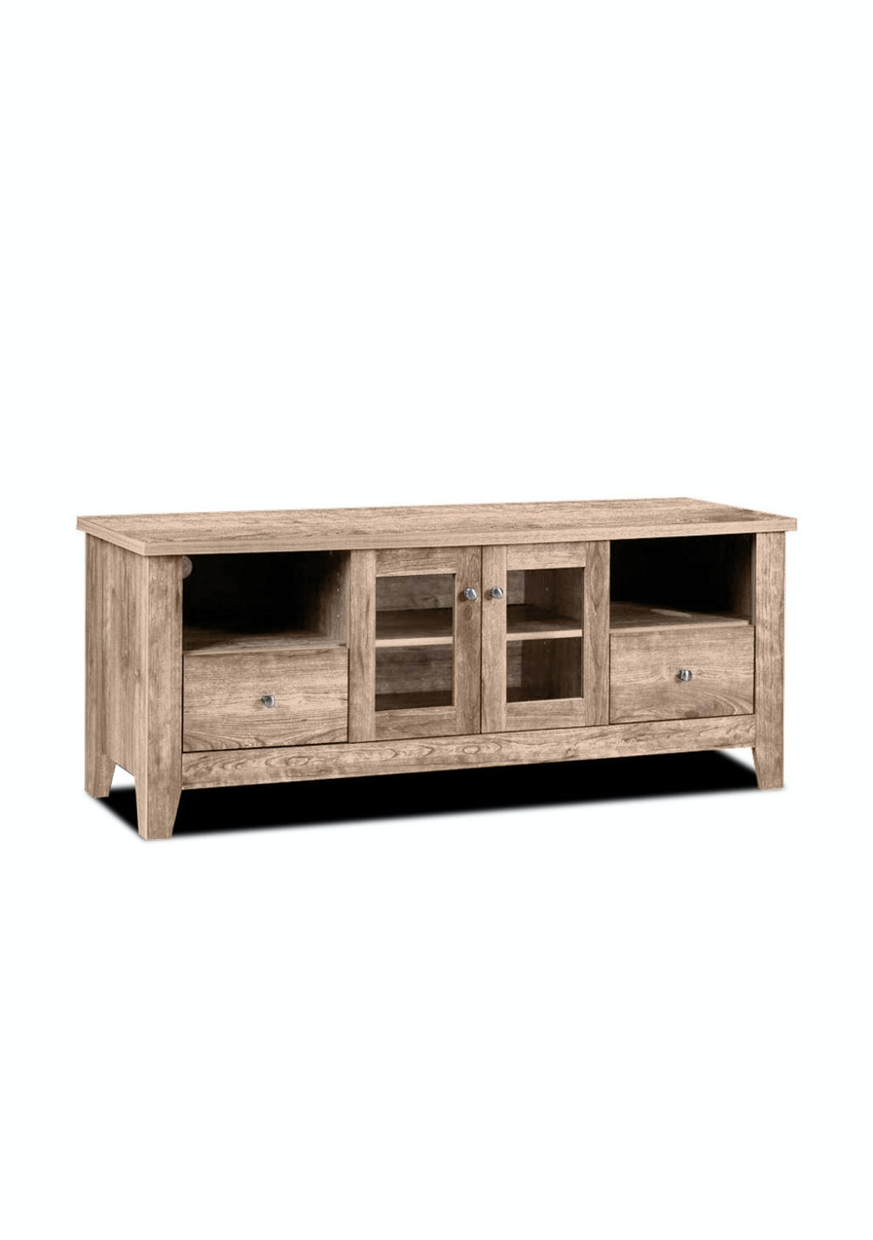 Greenville entertainment unit 150 natural oak new modern furniture pieces onceit