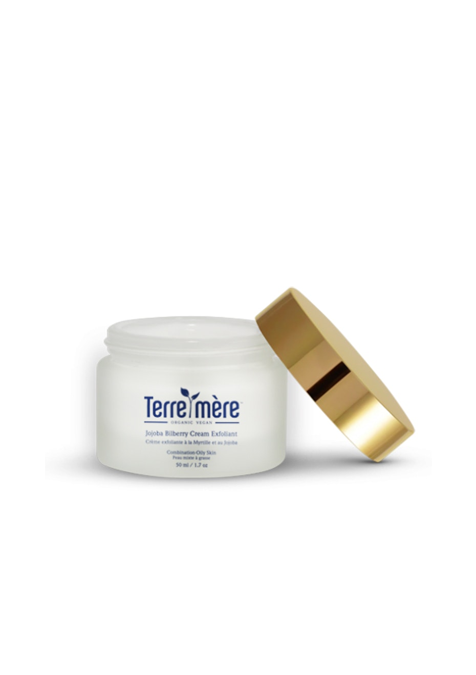 Terre Mere - Jojoba Bilberry Cream Exfoliant - Combination-Oily Skin
