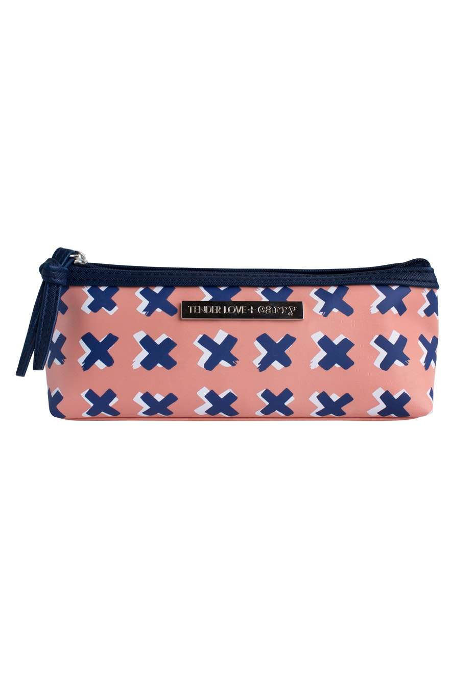 TL+C - Kiss Kiss Case - Peach/Blue