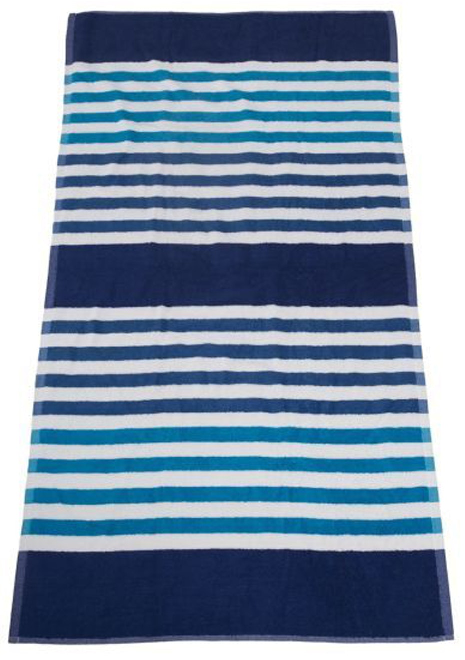 Seaside Stripe Beach Towel Royal