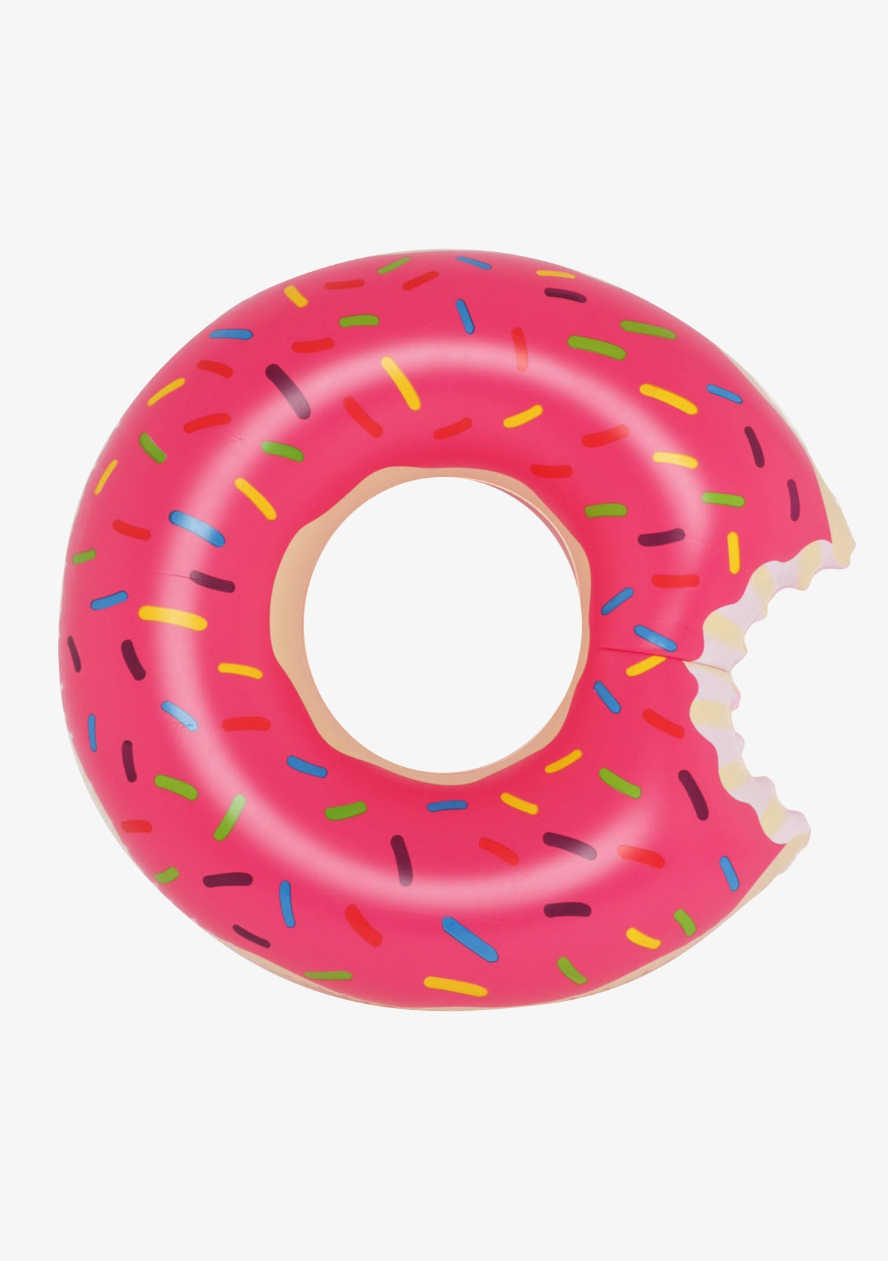 Pink Donut Inflatable - Pink Multi