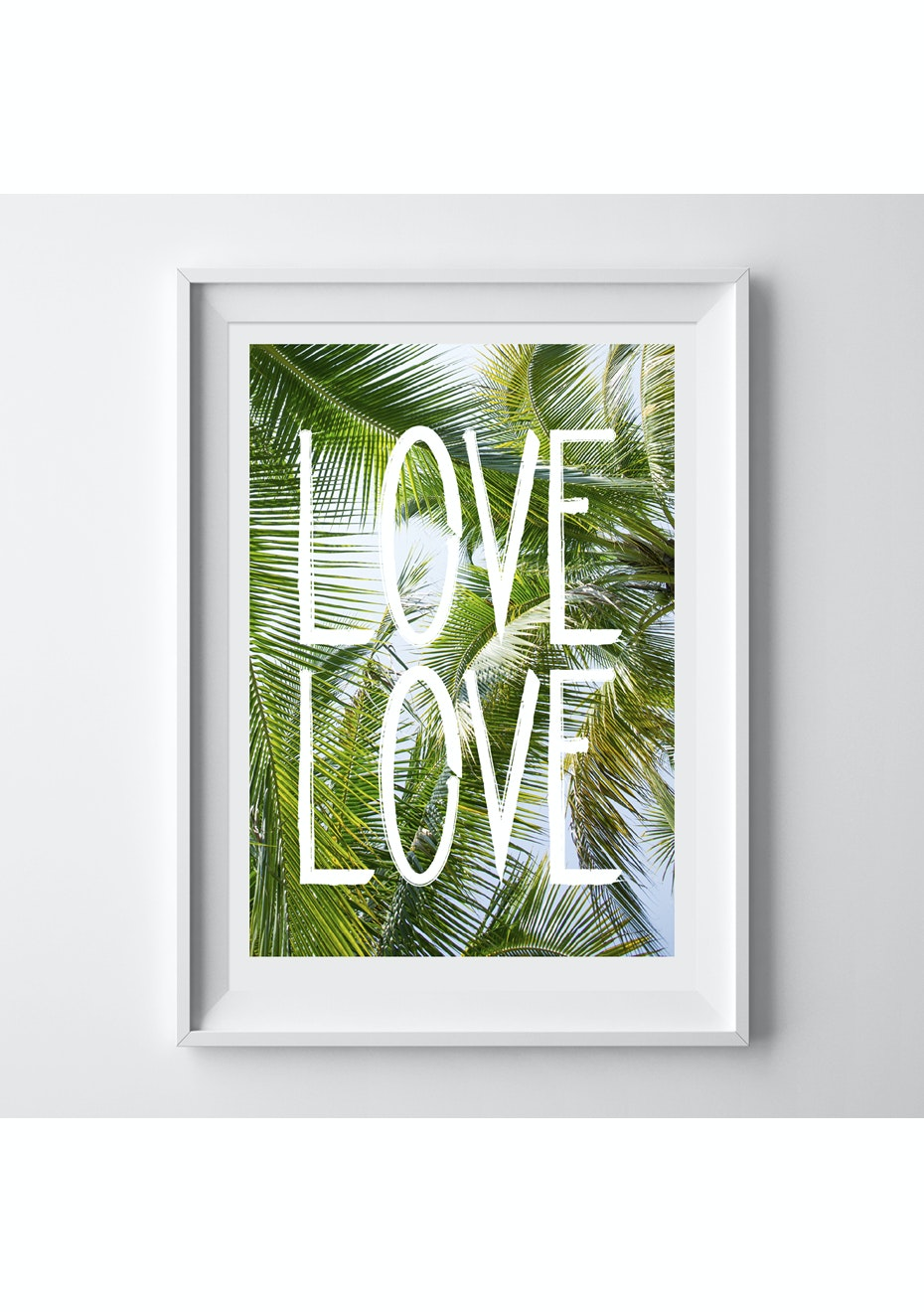 Simply Creative - Love Love - A4 Colour Print