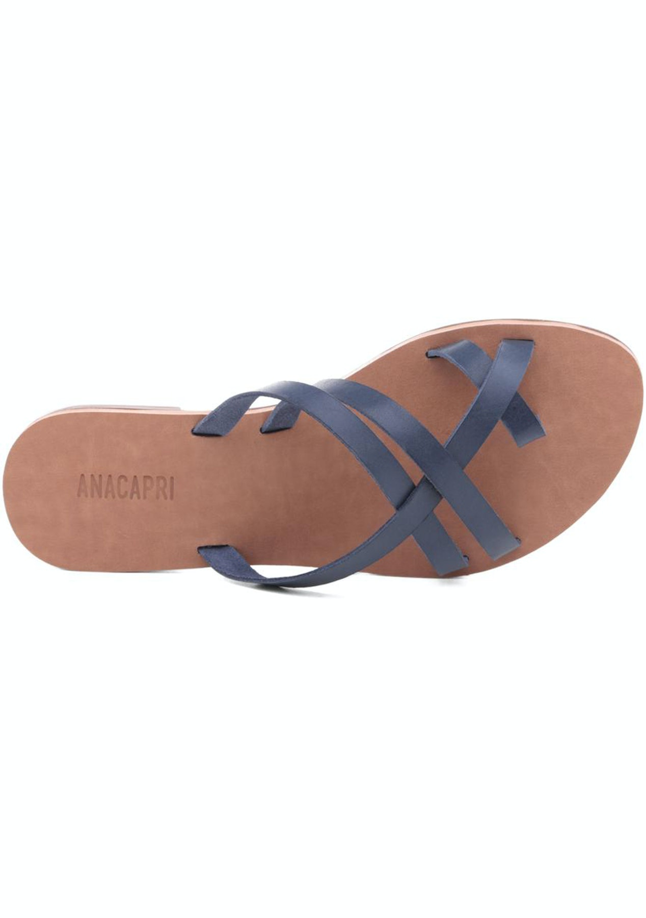 ceeb1ff79899 Anacapri - Flat Slim Navy - Under  60 Shoes - Onceit